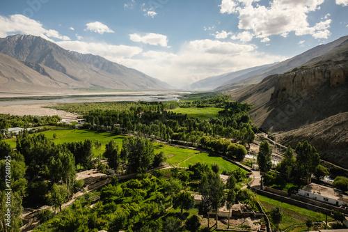 Photo wakhan valley tajikistan
