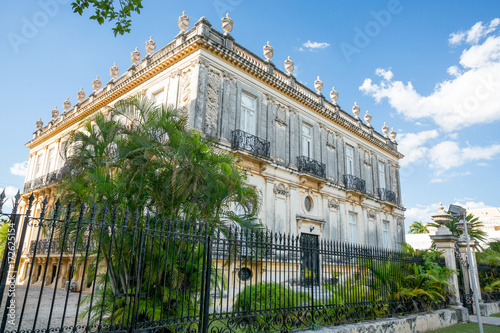 Colonial house in Merida, Mexico - Buy this stock photo and