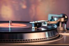 Vinyl Record Player, Bright Li...