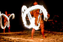 Fire Dance Cook Islands Polyne...