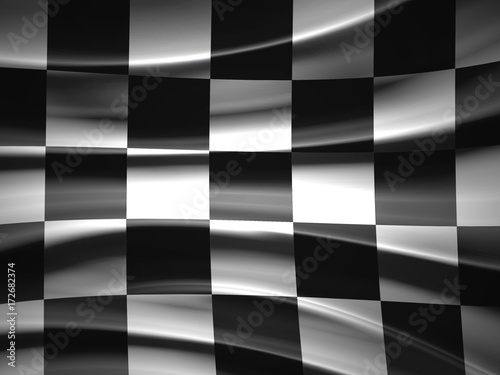 La pose en embrasure F1 Racing Flag