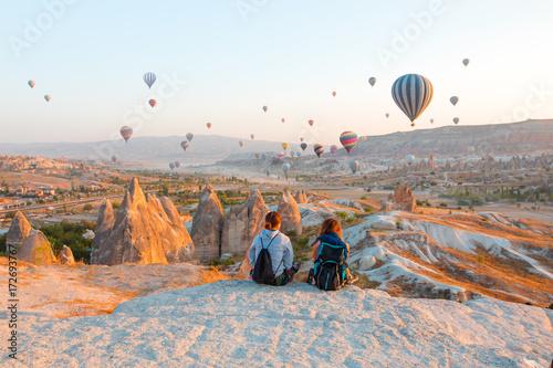 Poster Montgolfière / Dirigeable Cappadocia