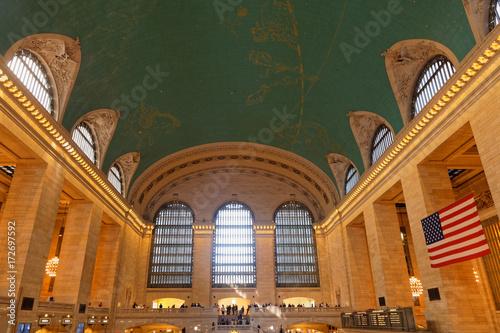 Hall de Grand Central Station à Manhattan Canvas Print