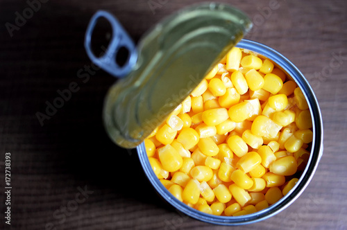 Corn in a can