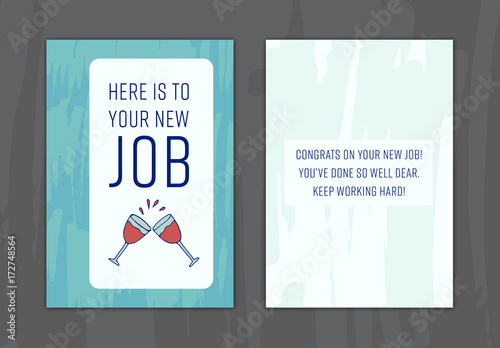 New job greeting card layout 9 buy this stock template and explore new job greeting card layout 9 m4hsunfo