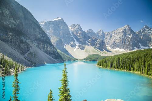 Papiers peints Moraine Lake British Columbia Canada