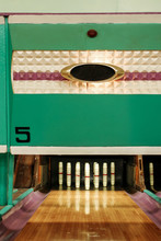 Vintage Candlepin Bowling Alley