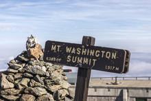 Summit Of Mount Washington In ...