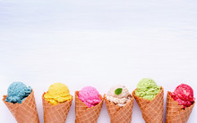 Various Of Ice Cream Flavor In...