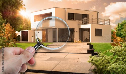 Fotografia, Obraz  Audit et expertise d'une maison d'architecte moderne