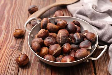 grilled chestnut