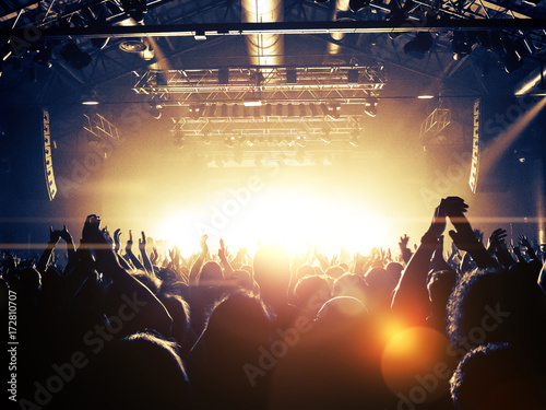 Zdjęcie XXL Sala koncertowa przepełniona fanami