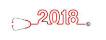 Stethoscope Year 2018 / 3D Ill...