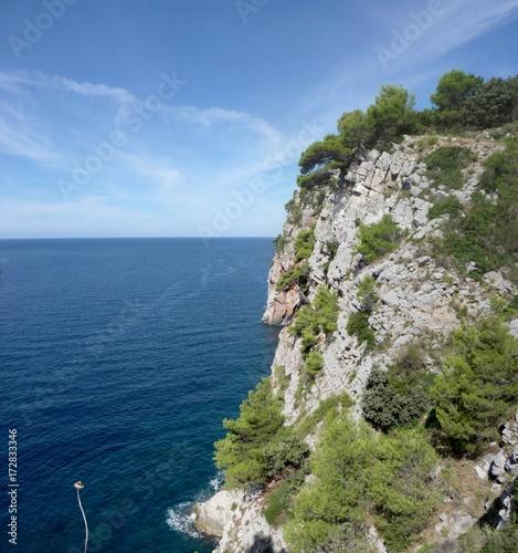 Konavle cliff, Croatia Fototapete