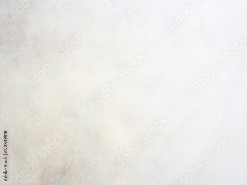 Fototapeta Painterly vintage near white canvas background with soft colors obraz