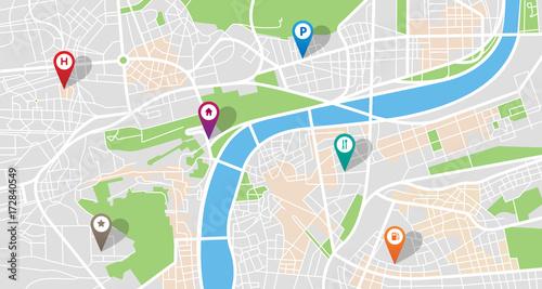 Photo  City map