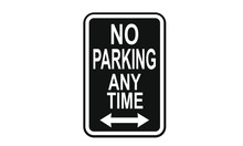 No Parking At Any Time Informa...