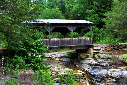 Arkansas Covered Bridge Canvas Print