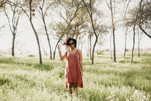 Janna Standing In Field