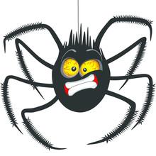 """Spider """"Oh No!"""" Face Emoticon ..."""