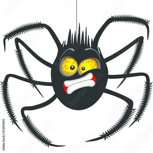 Keuken foto achterwand Draw Spider