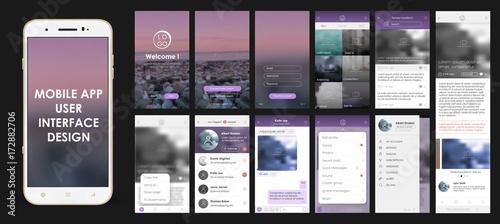 Fotografia  Design of mobile applications, UI, UX, GUI