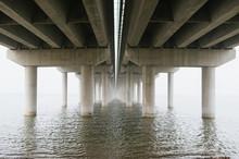 Highway Bridge Cross A River