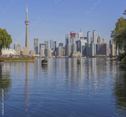 Fototapeta Panoramę Toronto nad jeziorem Ontario