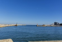 Bay View Of The Port Town Of T...