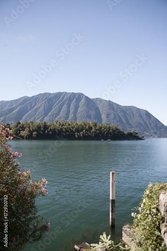 Photo Stands Salmon Lago di Como