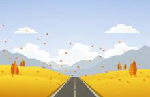 Vector Illustration: Autumn Hi...