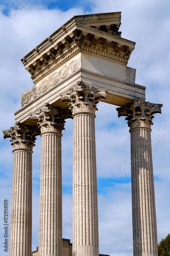 Foto  Tempel in Xanten