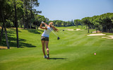 Algarve Golf Girl