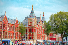 Amsterdam Centraal Station. It...