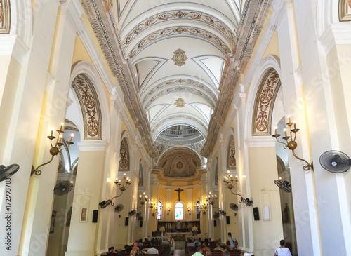 Photo Interior of Cathedral of San Juan Bautista in Old San Juan, Puerto Rico