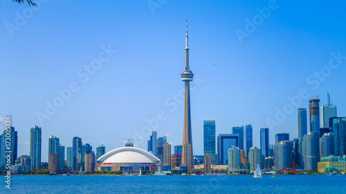 Plakat Zwiedzanie Toronto w Ontario
