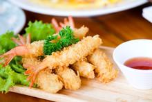 Fried Shrimp Ball Or Tempura S...