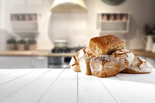 Bread In Kitchen