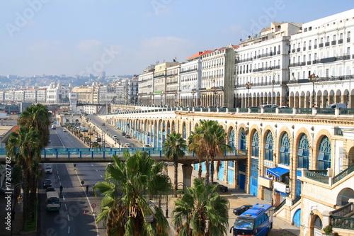 Foto op Aluminium Algerije Alger la blanche, Algérie