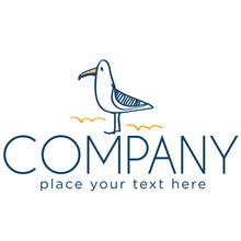 Logo With Seagull