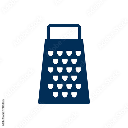 Fotografie, Obraz  Isolated Grater Icon Symbol On Clean Background