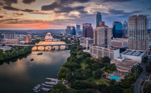 Downtown Austin, Texas During ...