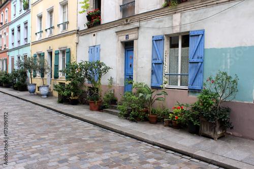 Obraz na plátně Paris - Rue Crémieux