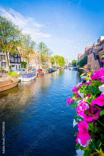 Deurstickers Amsterdam Amsterdam - Netherlands