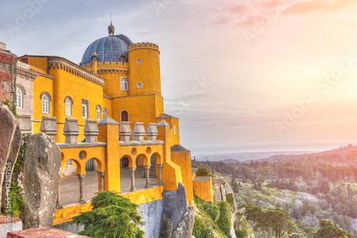 Pałac Pena - Sintra, Lizbona, Portugalia