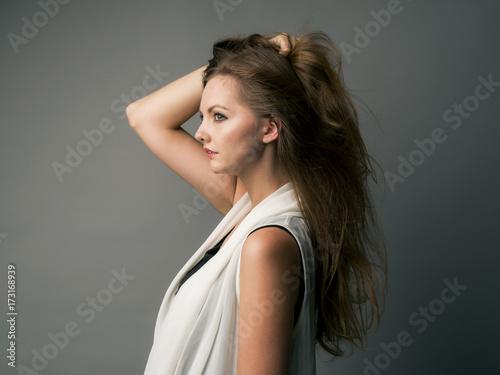 Canvastavla Portrait of beauty woman