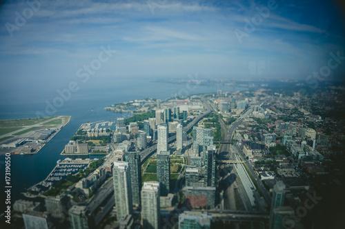Fototapeta Toronto z wieży CN Tower