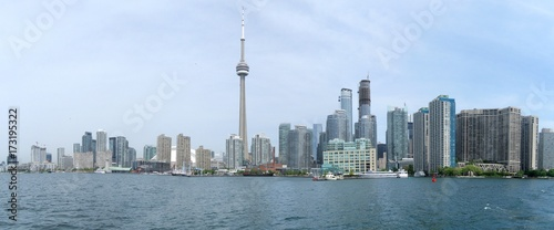 Fototapeta Panorama linia horyzontu Toronto, Kanada