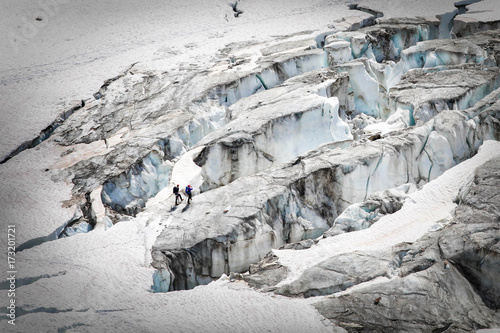 Photographie glacier