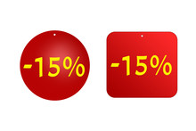15 Percent From Red Stickers O...